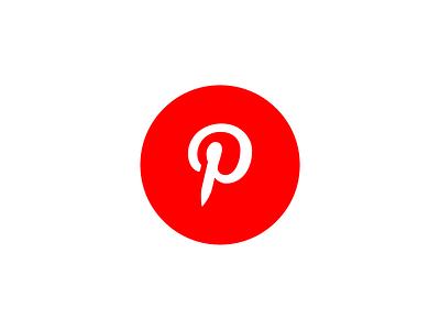 Icon Pinterest (Colorful) pinterest icon pinterest good icon art art corel draw authentic perfectly top elegant minimalist simple now modern colorful social media icon design