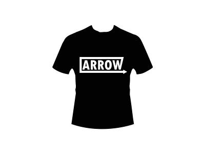 Arrow (Design T Shirt) arrow good art adobe photoshop authentic perfectly top elegant minimalist simple black white white black vintage monokrom retro sentence letter t-shirt design