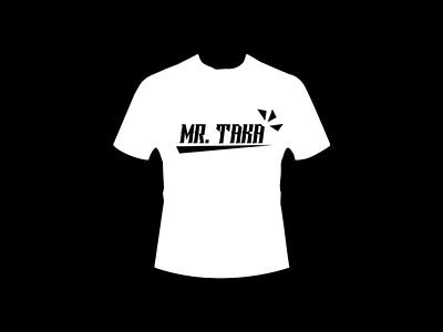 Mr. Taka (Design T Shirt) mr. taka good art adobe photoshop authentic perfectly top elegant minimalist simple black white white black vintage monokrom retro sentence word t-shirt design