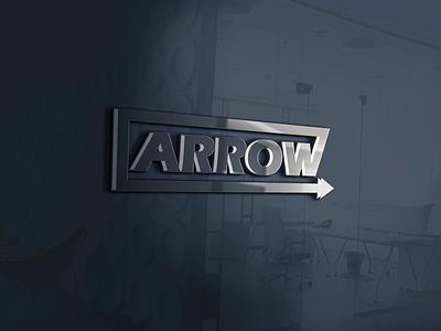Arrow   3D Glass Mockup art professional logo sunny luxury black  white grey 3d mockup logo mockup icon arrow icon glass mockup 3d arrow logo minimalist simple elegant authentic design