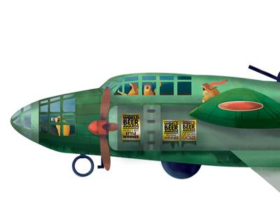 Betty B. Bossuwé plane!