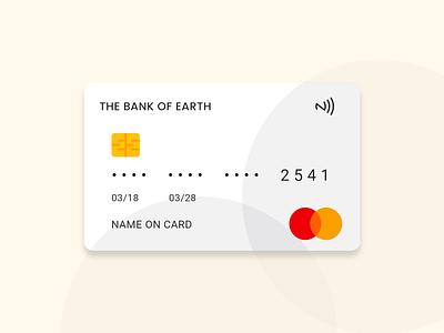 Debit-Credit Card - UI Kit payment method branding design credit card design debit card card ui card american express mastercard visa card bank card creditcard credit debit