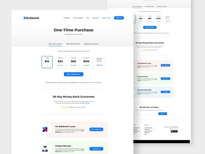 Pricing web page home page landing page web design website ui design clean creative typogaphy pricing table pricing plan pricing page pricing upgrade plan ux ui web flat selection