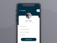 Mobile App | Profile View