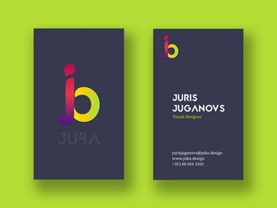 JUBA Business Cards