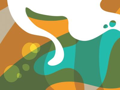 El Baile Solitario 2 illustration print color vector music