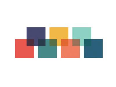 Color Palette grad school vector art illustration