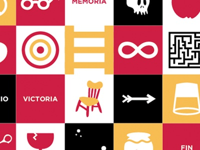 Icons WIP wip icons colors vector illustration design book game