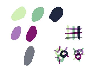 Thury - Color palette
