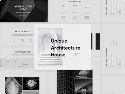 A new era in architecture Landing page architecture design architect architecture minimalistic minimal ux branding webdesign website design website minimalist design monochrome minimalism minimalist uidesign uiux ui landing page design landing page landing