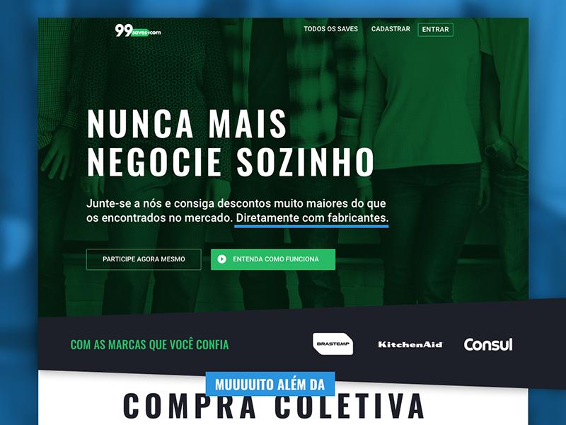 Landing Page   Collective bargaining portal desktop web ui home landingpage
