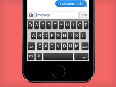 iOS Meet Mac's Keyboard!
