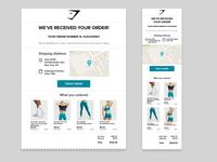 Daily UI - 017 Email Receipt uidesign receipt typography uxui app design ux design 017 dailyuichallenge dailyui daily 100 challenge product design