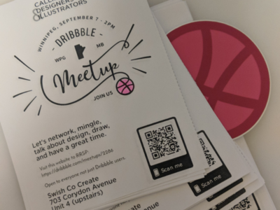 Winnipeg Dribbble Meetup