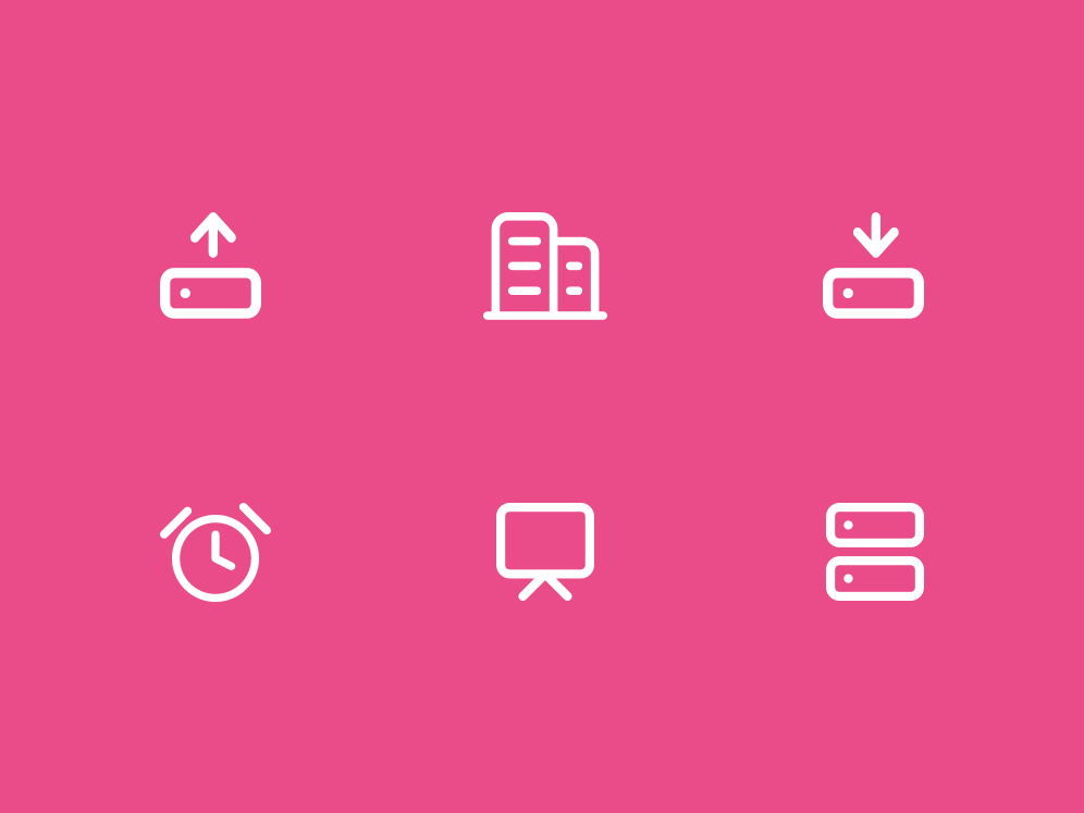 Icons about internet of things and workspaces ui design web product iot icon