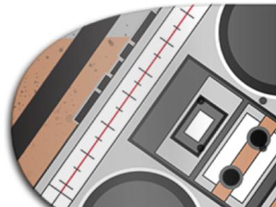 4 Elements Hip-Hop Skate Deck Designs (Breakdancing)
