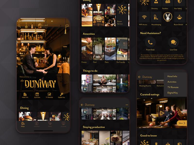 Room Directory App dark mode appmobile ux figmadesign designsystem branding product design design ui app
