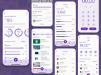 FinTech - Digital Wallet - Concept digital wallet finance app fintech appmobile ux product design design ui app