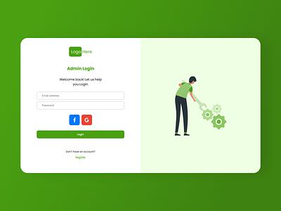 Dashboard ecommerce login admin agriculture design ux ui