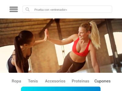 Diseño de App GymWay salud app design app