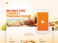 Joint_ a landing page design for food sharing app