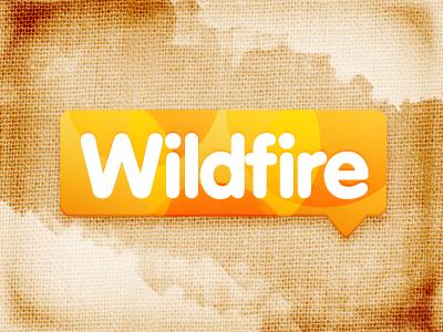 Wildfire fire burned burn orange logo fabric texture brand citrusbyte