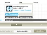 Timelines, Events & Stacks