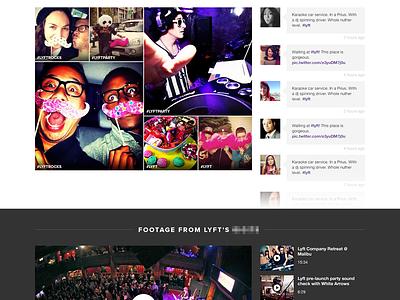 Event Host Profile citrusbyte music search purple artists company lyft band booking attendees flat repertoire buzz photos dj calendar tweets flat design