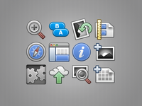 InstantGallery 2 toolbar icons