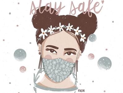 #staysafe kiasue drawing artwork art stayhealthy procreate illustration procreate drawing procreate illustration staysafe