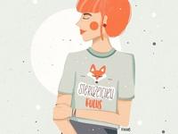Sternzeichen Fuchs kiasue drawing redhead sternzeichen fox procreate illustration procreate drawing procreate apple pencil ipad drawing digitale illustration