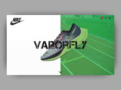 Nike Vaporfly web design software vaporfly ux design uiux ui design web design ui design web app nike
