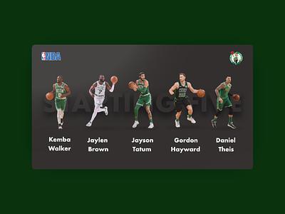 Boston Celtics web design boston celtics software web design web ui ux design app design ui design design ux uiux