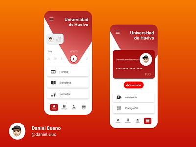 College App design app ux design ux uiux ui design ui