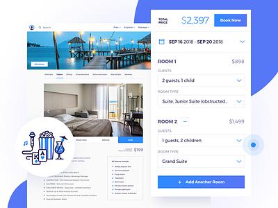 Cruise Profile - SeaHub design flat illustration ui cruising ship hotel booking planning profile cruise