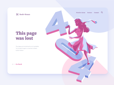404 Illustration neon lights gelled woman colors error 404 vector illustrator illustration