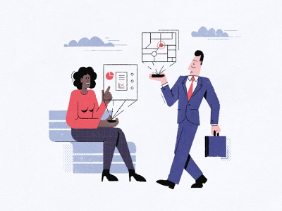 Interfaces: Kasablanka challenge character design character interface flat ui branding landing page landing design illustrator vector illustration