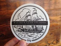 MLS Letterpress Coasters