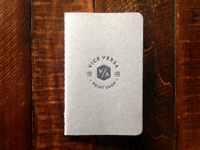 Vice Versa Print Shop Branding