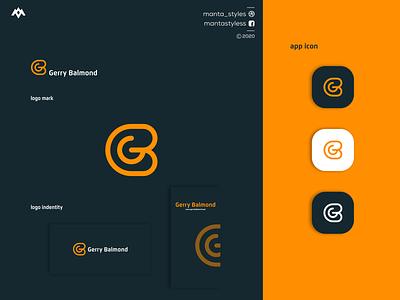 GB LOGO animation creative logomaker illustration typography minimal logo design letter branding
