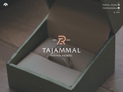 Tajammal Rasyad Adzriel clothing jewelry vector ui illustration app letter icon minimal logo design branding