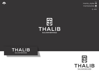 Thalib Sulhan Baihaqi apparel sport jewelry logo maker graphic design illustration icon design minimal brand mark branding uiux letter tb letter logologo maker logos tb logo tb concept logo