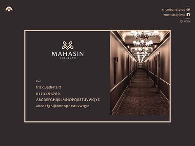 Mahasin Nurullah logo design ux vector ui illustration app letter icon minimal logo design branding jewelry monogram logo logologo maker m monogram logo m logo