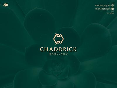 Chaddrick Darelano logo maker ui illustration app letter icon logo design branding luxury jewelry minimal logolettering d logo c logo cd logo concept