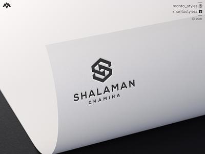 Shalaman Chamina ui illustration app icon minimal logo design branding letter logo awesome excellent logo minimal logo sport clothing logo maker c logo s logo sc monogram logo sc concept logo