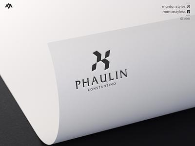 Phaulin Konstantino sale logo logo maker us dubai usd excellent logo memoreble logo jewelry clothing letter minimal logo design branding ux ui designlogo pk letter pk pk logo