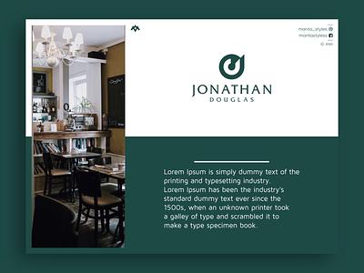 Jonathan Douglas letter j initial j initial j logo j logo vector ui illustration app letter logo icon minimal design branding