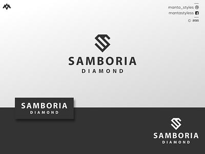 S Logo Concept ui vector illustration app letter icon minimal design branding sport logo beauty logo clothing logo jewelry logo s logo logo line art diamond diamond logo