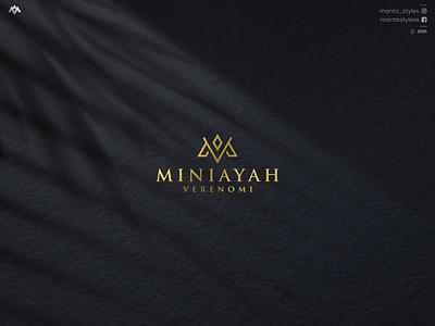 Initial M Logo monogram logo initial brand mark luxury logo top logo sale logo vector ui illustration app letter icon minimal logo design branding
