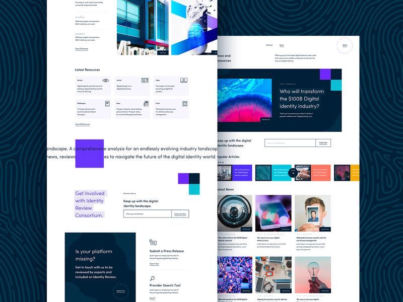Identity Review Website web flat vector bold webdesign design branding typography illustration